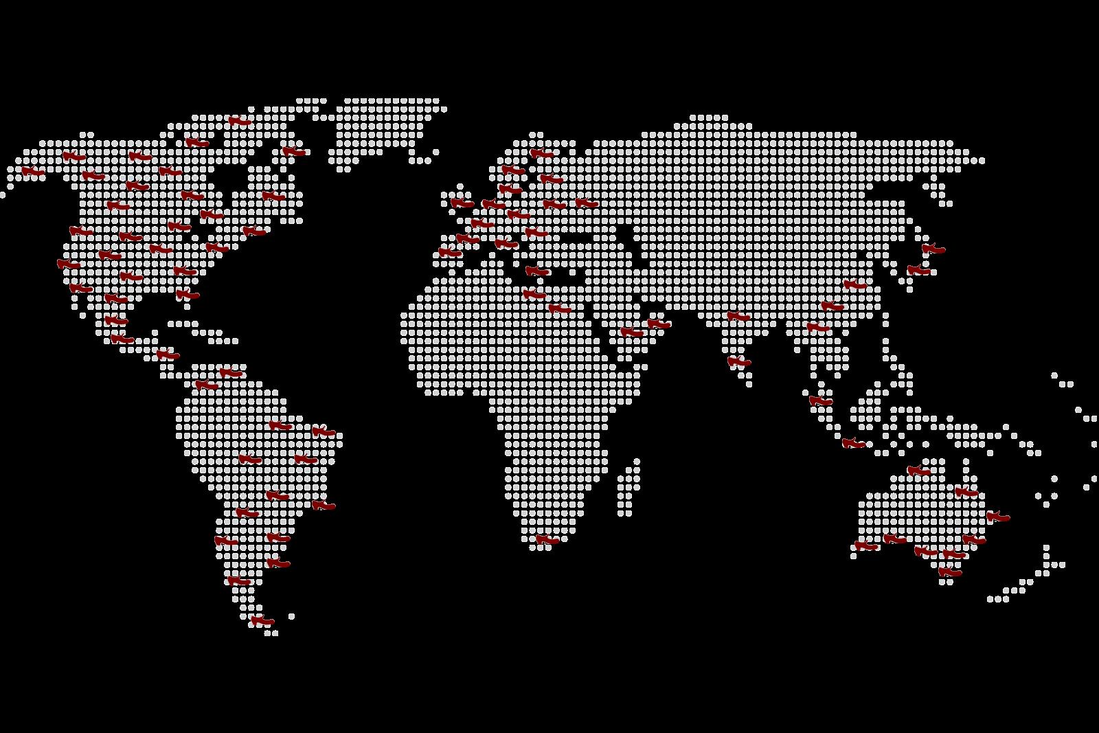 flamencista-world-map