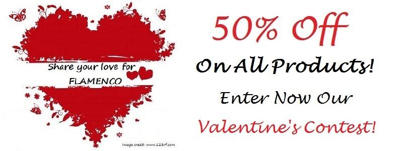 Facebook Valentine's Contest - Win 50% off!