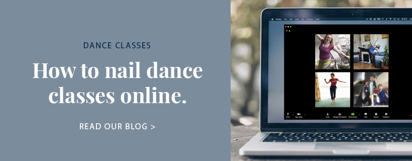 How to nail dance classes online