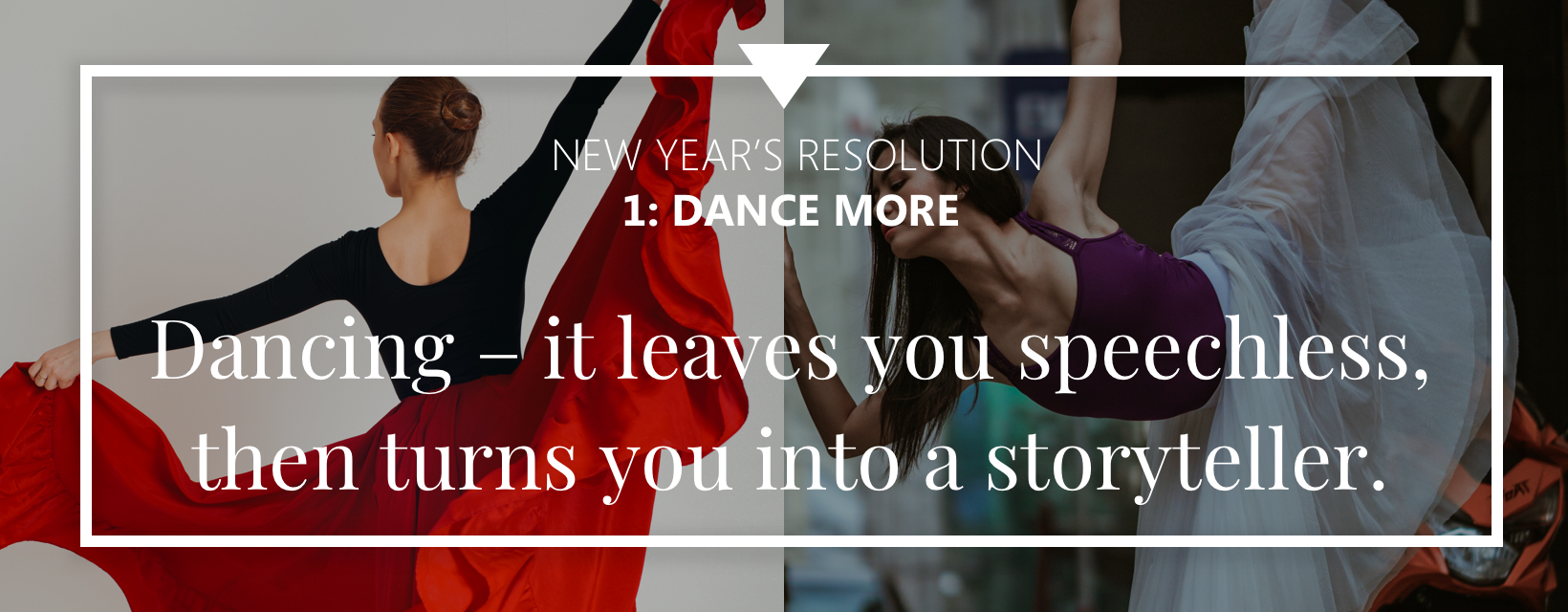 New Year's resolutions for dancers N1: Dance more