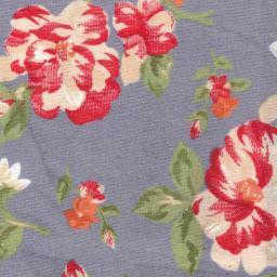Floral pattern on Grey
