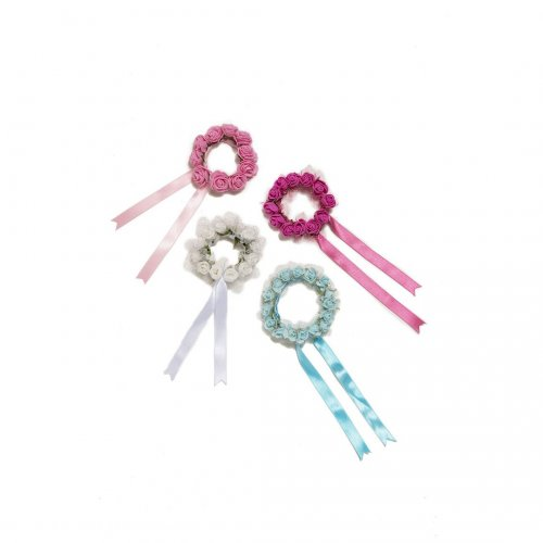 Flowery crown hair accessory Sheddo model AXESH 101