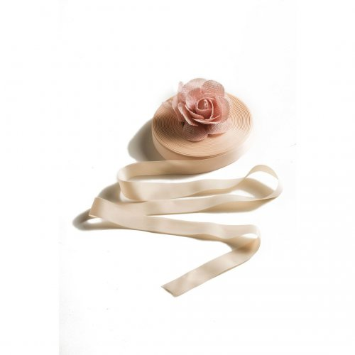 Ballet ribbon by Sheddo model AXESH 155, width 25mm, roll 50m
