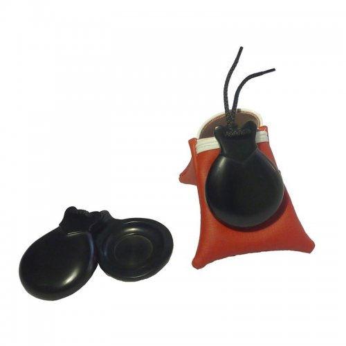 Castanuelas del Sur Model Fibra Concierto Black Doble Caja