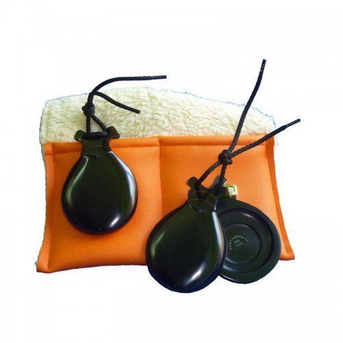 https://flamencista.com/Castanuelas del Sur Model Fibra Veteada Double Sound Box with Peak Teacher Edition