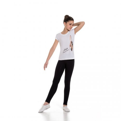 Fitted ankle leggings for girls Sheddo model 240C
