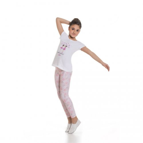 T-shirt with logo for girls Sheddo model SH 845C