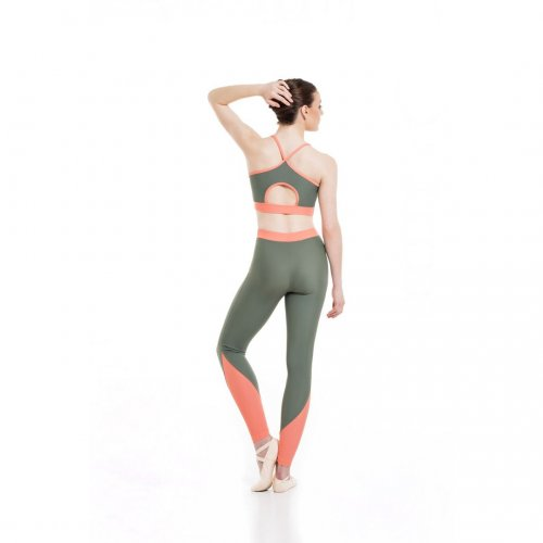 Fitted ankle leggings for ladies Sheddo model 2402W-2