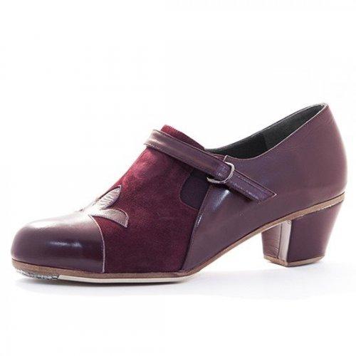 Don Flamenco Shoes for Men Model Farruca Flor de Lys