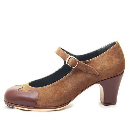 https://flamencista.com/Don Flamenco Shoes Model Olas