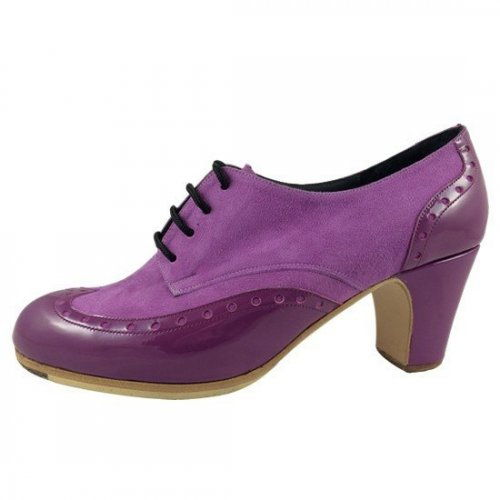 https://www.flamencista.com/Zapatos de Don Flamenco Modelo Tango Palavega