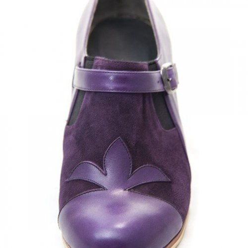 Don Flamenco Shoes Model Farruca Flor de Lys-3