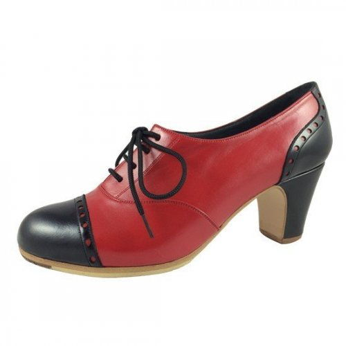https://www.flamencista.com/Zapatos de Don Flamenco Modelo Fandango Pala Recta