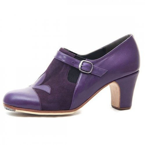 https://www.flamencista.com/Zapatos de Don Flamenco Modelo Farruca Flor de Lys
