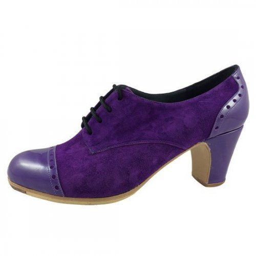 https://flamencista.com/Don Flamenco Shoes Model Tango Pala Recta