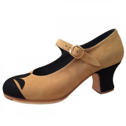 https://flamencista.com/Don Flamenco Shoes Model Flor de Lys