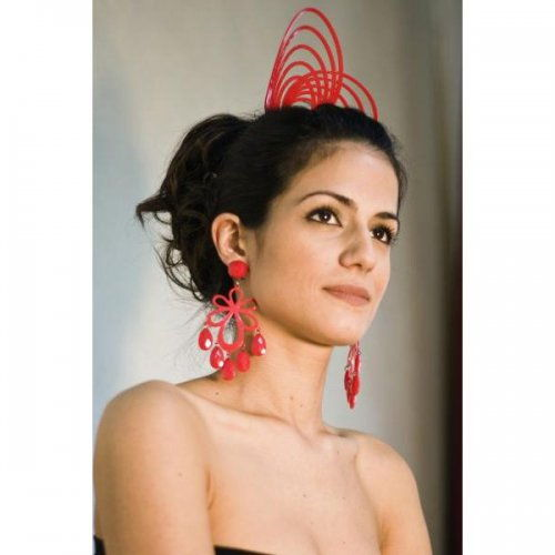 Flamenco Hair Comb: Acetato Red – Model 1543