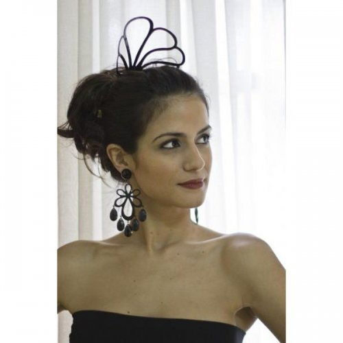 Flamenco Hair Comb: Acetato Black – Model 1563