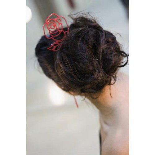 Flamenco Hair Comb: Acetato Red – Model 1533