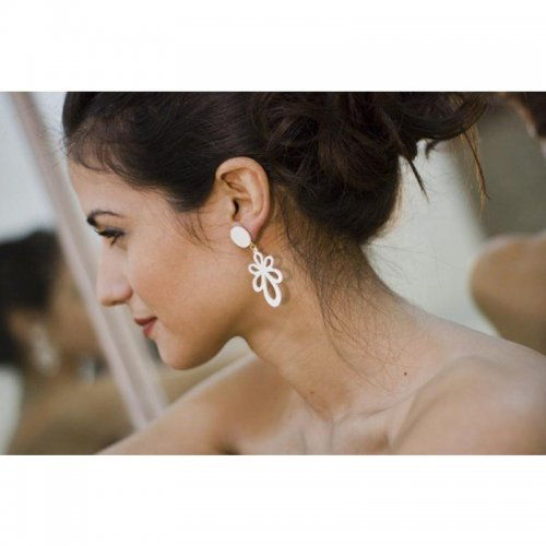 Flamenco Earrings Μodel La Primavera