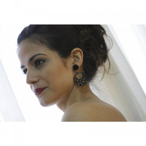Flamenco Earrings Model La Morenita