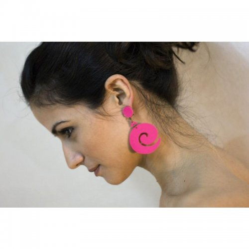 Flamenco Earrings Μodel Caracoles
