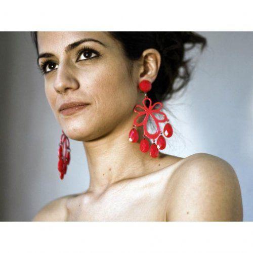 Σκουλαρίκια Flamenco Mοντέλο La Seducción