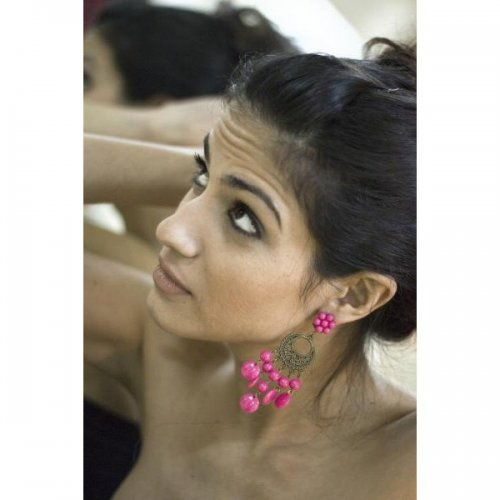 Flamenco Earrings Model Folklore Moderno