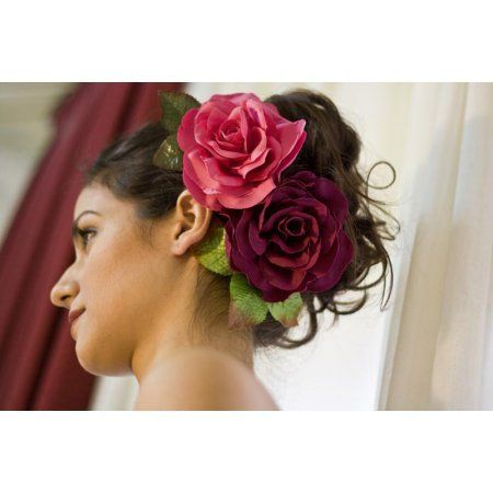 Flameno Flower Model Buleria in Fuchsia
