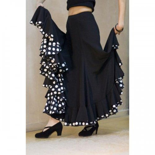 Flamenco Performance Skirt Model TRIANA V