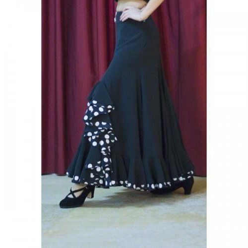 Flamenco Performance Skirt Model TRIANA V-2