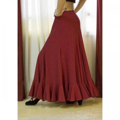Flamenco Performance Skirt Model TRIANA B-2