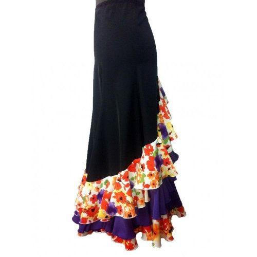 Φούστα Flamenco για παραστάσεις Mοντέλο CARACOLES-4