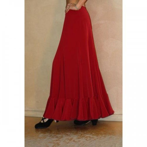Flamenco Performance Skirt Model TRIANA B-3