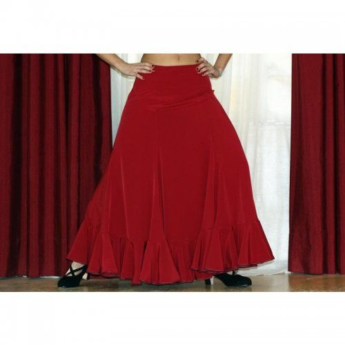 Flamenco Performance Skirt Model TRIANA B-4