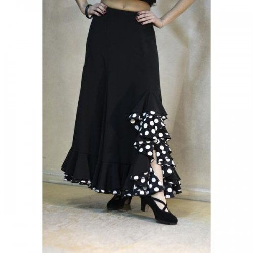 https://www.flamencista.com/Flamenco Performance Skirt Model TRIANA V
