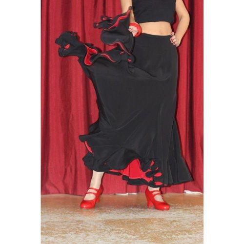 Φούστα Flamenco για εξετάσεις Μοντέλο TRIANA D-6
