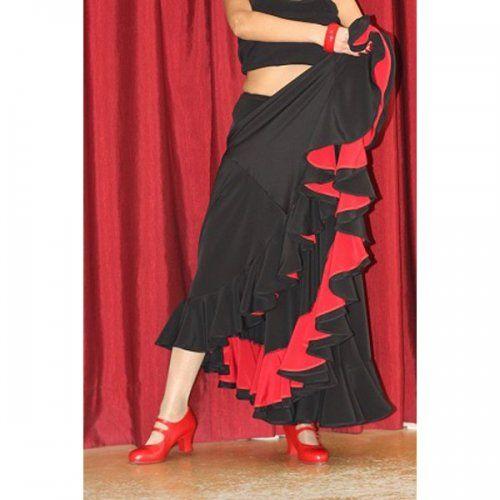 Φούστα Flamenco για εξετάσεις Μοντέλο TRIANA D-3