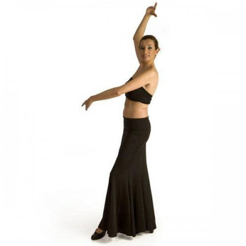 Flamenco Skirt for Practice sessions Model AZABACHE IV-2