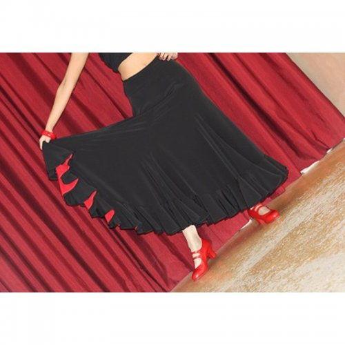 Φούστα Flamenco για εξετάσεις Μοντέλο TRIANA D-2