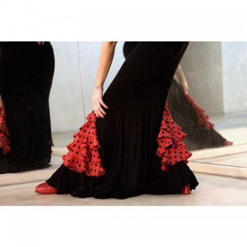 Flamenco Skirt for Practice sessions Model CARMIN III-2