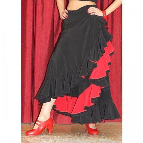 Φούστα Flamenco για εξετάσεις Μοντέλο TRIANA D-4