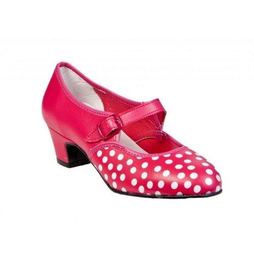 Flamenco Shoes for Girls Model Little Angel
