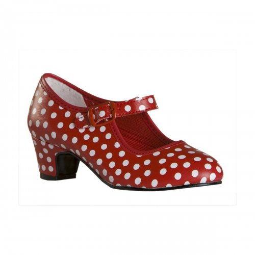 Flamenco Shoes for Girls Model Snow White