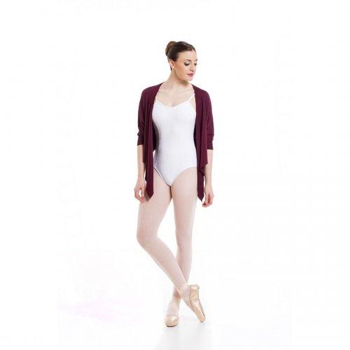 Knit short sleeve bolero for ladies Sheddo model PA 110123
