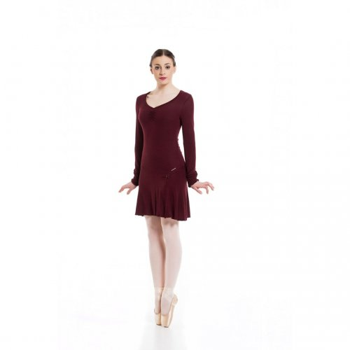 Knit dress for ladies Sheddo model PA 012205