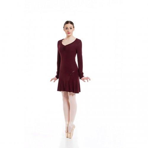 Knit dress for ladies Sheddo model PA 012205