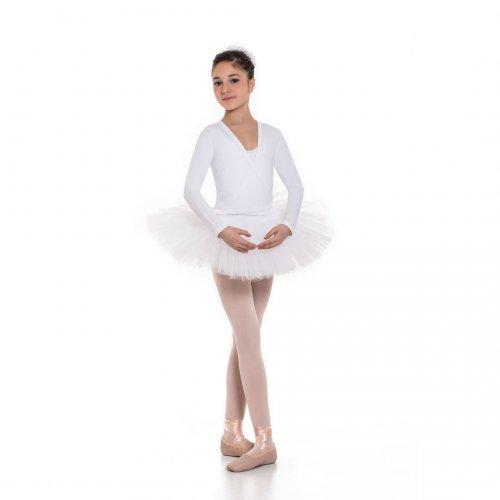 Knit long sleeve cardigan for girls Sheddo model CROCH