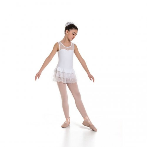 Leotard dress for girls Sheddo Model 1135C