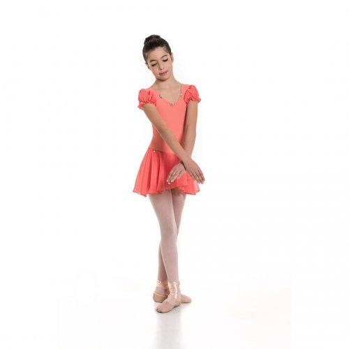 Leotard dress for girls Sheddo Model 1177C